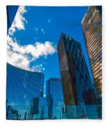 Las Vegas Nevada Usa Fleece Blanket
