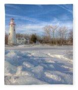 Marblehead Lighthouse Fleece Blanket