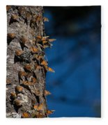 Monarch Butterflies Fleece Blanket