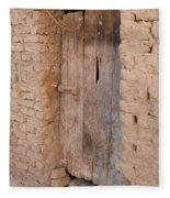 Mud Brick Village Fleece Blanket