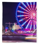Myrtle Beach South Carolina Fleece Blanket