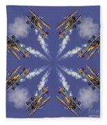 8 Planes Fleece Blanket