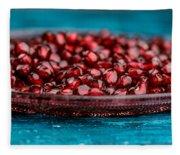 Pomegranate Fleece Blanket