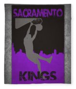 Sacramento Kings Fleece Blanket