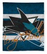 San Jose Sharks Fleece Blanket