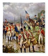 Saratoga: Surrender, 1777 Fleece Blanket