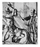 Sir Thomas More (1478-1535) Fleece Blanket