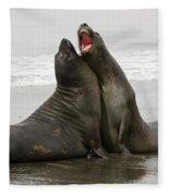 Southern Elephant Seal Fleece Blanket