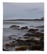St Marys Lighthouse Fleece Blanket