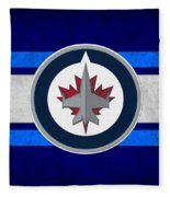 Winnipeg Jets Fleece Blanket
