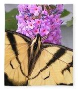 #859 D480 Swallowtail 2010.jpg Fleece Blanket