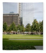 9/11 Grass Fleece Blanket