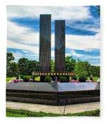 9/11 Memorial Freehold Nj Fleece Blanket