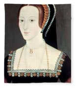 Anne Boleyn (1507-1536) Fleece Blanket