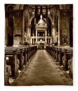 Basilica Of Saint Mary Fleece Blanket