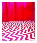 Black Lodge Fleece Blanket