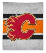 Calgary Flames Fleece Blanket