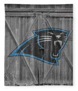 Carolina Panthers Fleece Blanket by Joe Hamilton