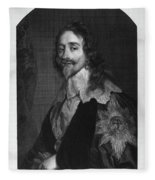 Charles I (1600-1649) Fleece Blanket