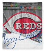 Cincinnati Reds Fleece Blanket