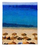 Elia Beach Fleece Blanket