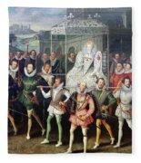 Elizabeth I  (1533-1603) Fleece Blanket