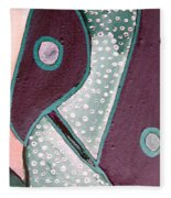 Fashion Art Fleece Blanket