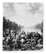 Francis Marion (1732?-1795) Fleece Blanket