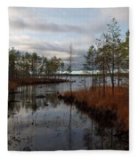 Koirajarvi Fleece Blanket