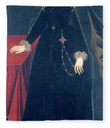 Mary Queen Of Scots Fleece Blanket