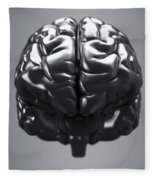Metallic Brain Fleece Blanket