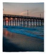 Myrtle Beach South Carolina Fleece Blanket