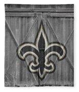 New Orleans Saints Fleece Blanket