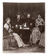 Richard Wagner (1813-1883) Fleece Blanket