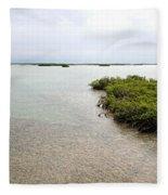 Scenes From Key West Fleece Blanket