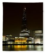 South Bank London Fleece Blanket