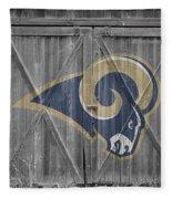 St Louis Rams Fleece Blanket