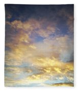 Sunset Sky Fleece Blanket