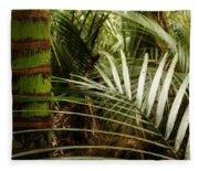 Tropical Forest Fleece Blanket