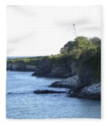 Cliff Walk Fleece Blanket