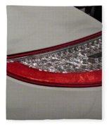 911 Taillight Fleece Blanket