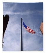 911 Tribute At Winslow Arizona Fleece Blanket