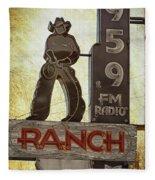 95.9 The Ranch Fleece Blanket