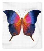 96 Brushfoot Butterfly Fleece Blanket