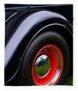 30's Classic Ford Pickup Fleece Blanket