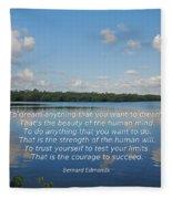 97- Edmonds Fleece Blanket