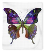 98 Graphium Weiskei Butterfly Fleece Blanket