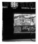 99 Cents - Worth Every Penny Fleece Blanket