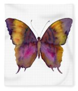 99 Marcella Daggerwing Butterfly Fleece Blanket