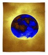 A Baking Planet Fleece Blanket